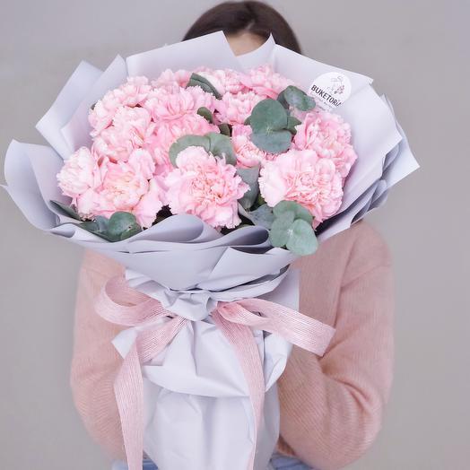 Нежнейший букет диантусов: букеты цветов на заказ Flowwow