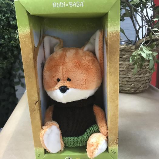 Игрушка лисичка Лика: букеты цветов на заказ Flowwow