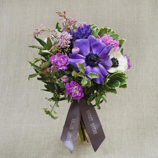 """Компактный букет """"Афина"""": букеты цветов на заказ Flowwow"""