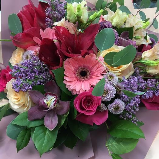 Теплая встреча: букеты цветов на заказ Flowwow