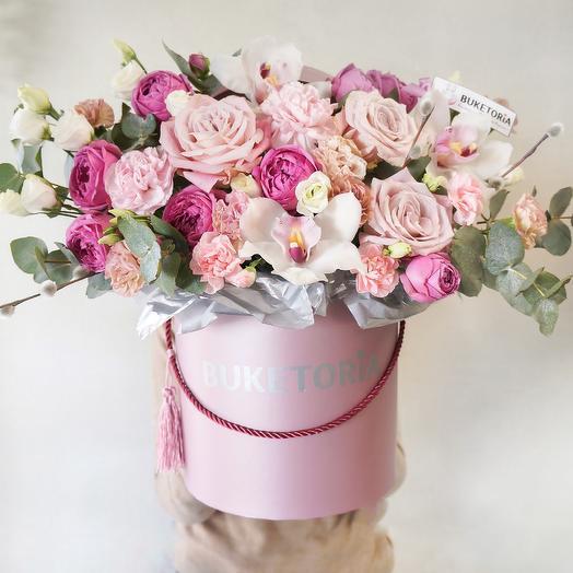 Аквабокс «Ягодный пунш»: букеты цветов на заказ Flowwow