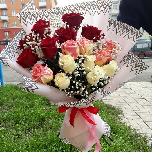 Семнадцать мгновений: букеты цветов на заказ Flowwow