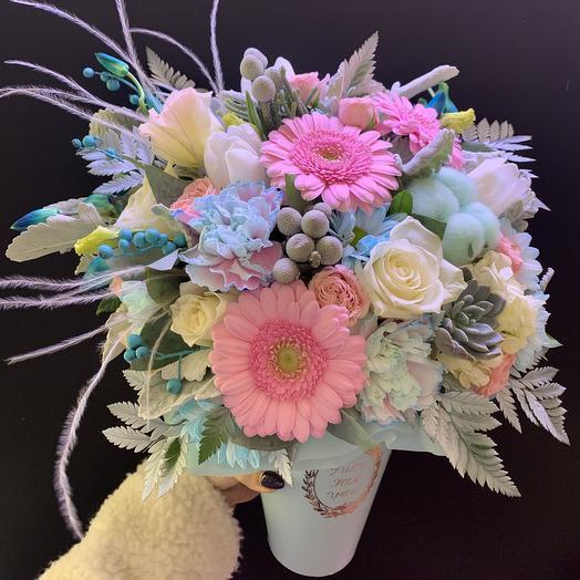 Тиффани: букеты цветов на заказ Flowwow