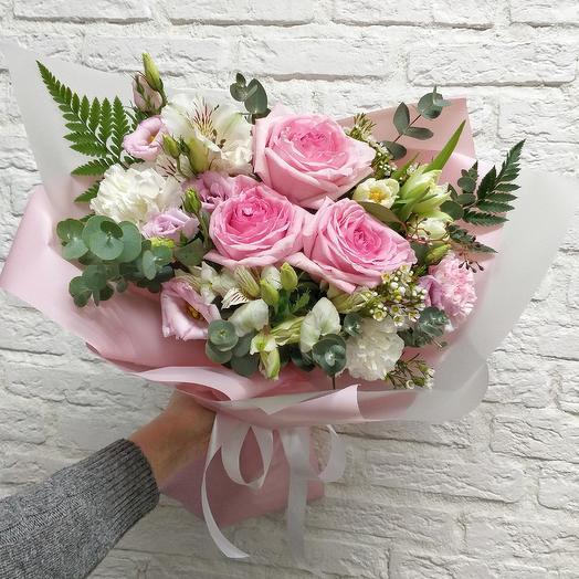 Букет 008: букеты цветов на заказ Flowwow