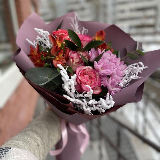 Зимний❄️: букеты цветов на заказ Flowwow
