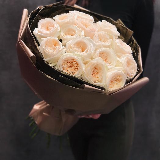 Шикарные розы ко дню влюблённых: букеты цветов на заказ Flowwow