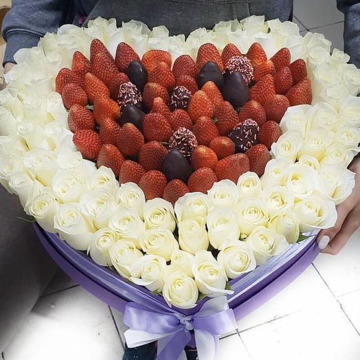С Днем Влюблённых: букеты цветов на заказ Flowwow