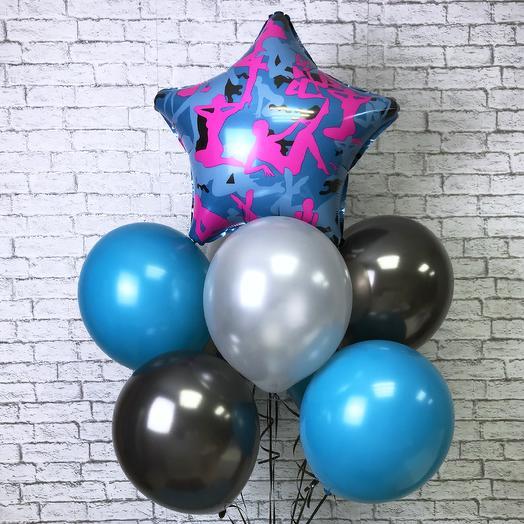 Воздушные шарики «Силуэт»: букеты цветов на заказ Flowwow