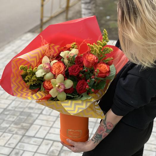 Fresh Orange: букеты цветов на заказ Flowwow