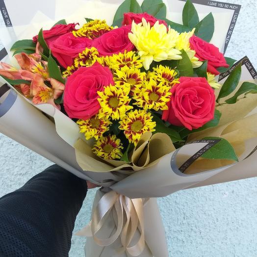 Прекрасное настроение: букеты цветов на заказ Flowwow