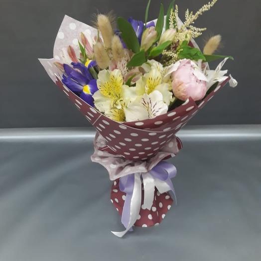 Букет первые чувства (мини): букеты цветов на заказ Flowwow