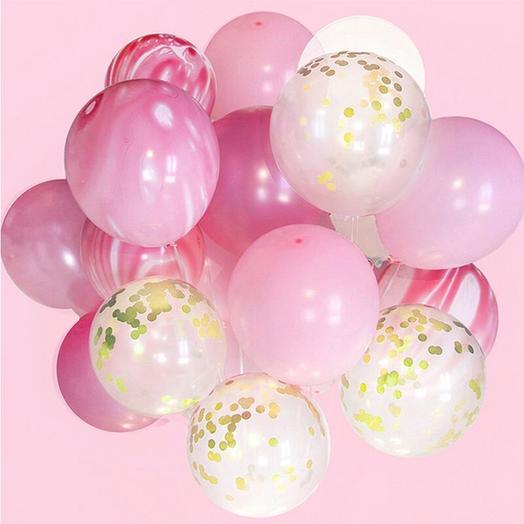 Набор воздушных шаров «конфетти»