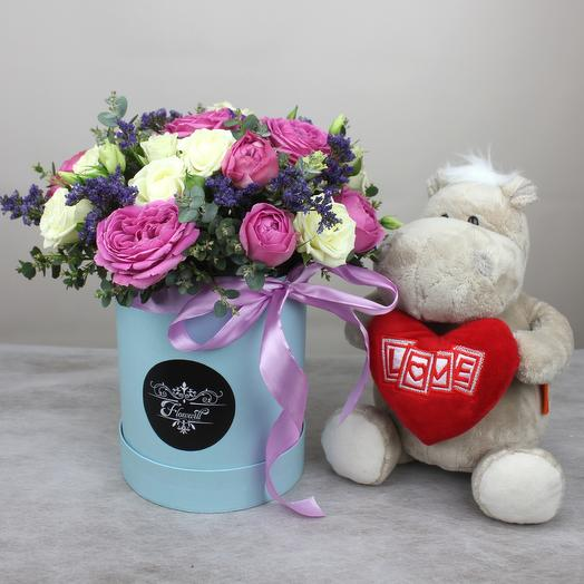 Очарование Лондона 2: букеты цветов на заказ Flowwow