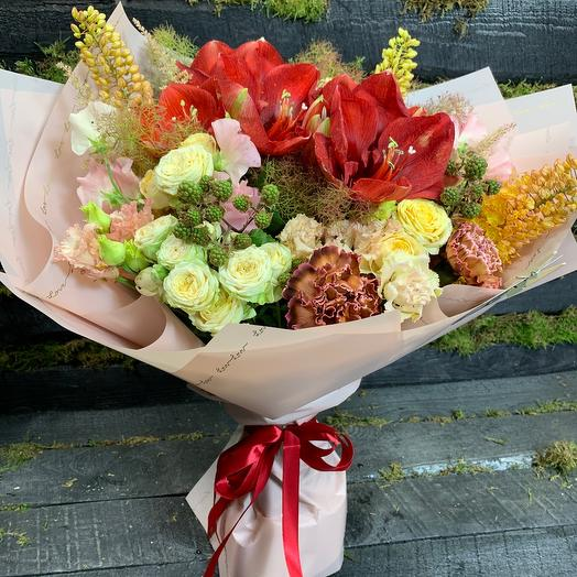 Букет Мальты: букеты цветов на заказ Flowwow