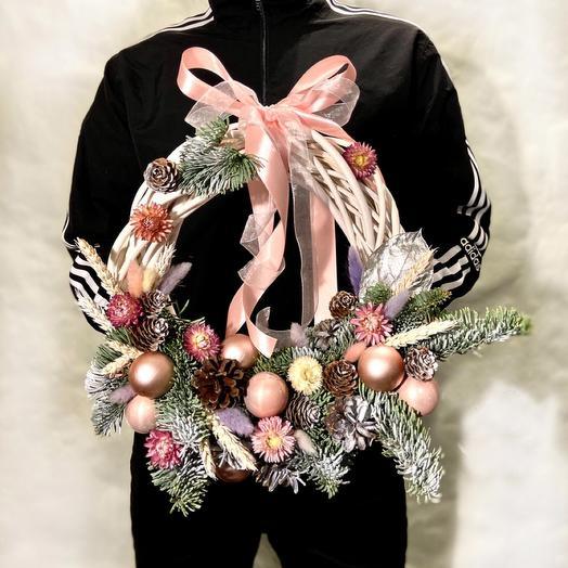 Декоративный Новогодний венок