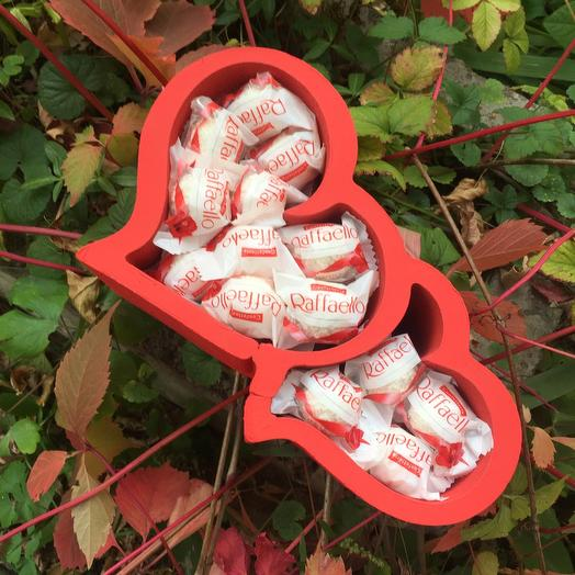 Сердца с рафаэлло