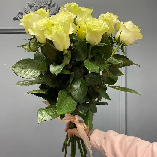Шикарный Букет из белой розы