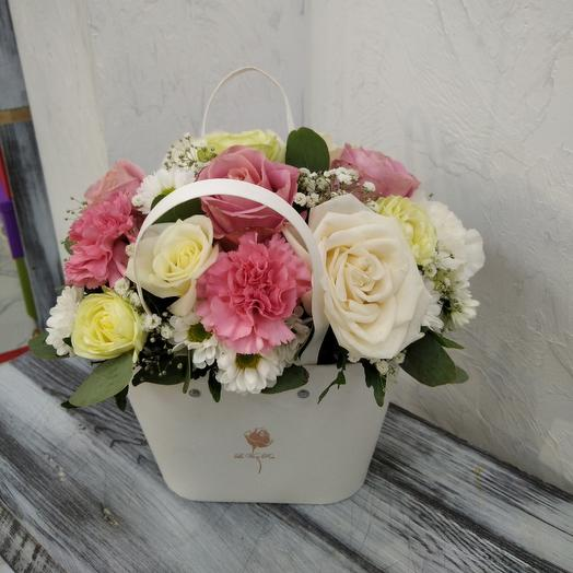 Золушка (цветы в коробке)