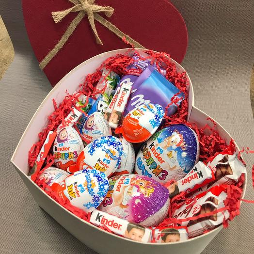 Коробка сладости ассорти🌹