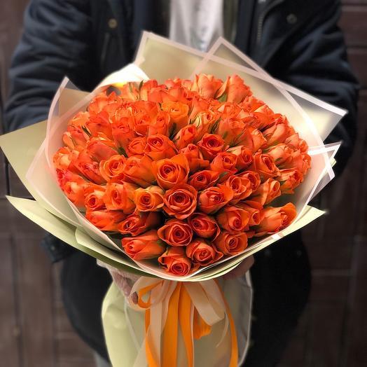 101 Рыжая роза