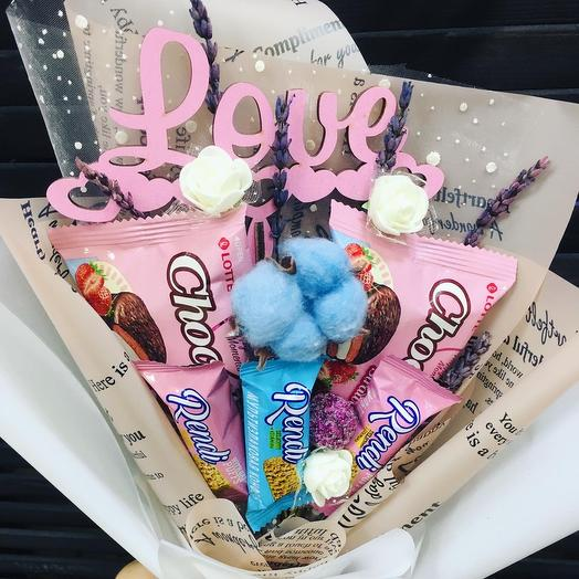 Букет сладкий «Love