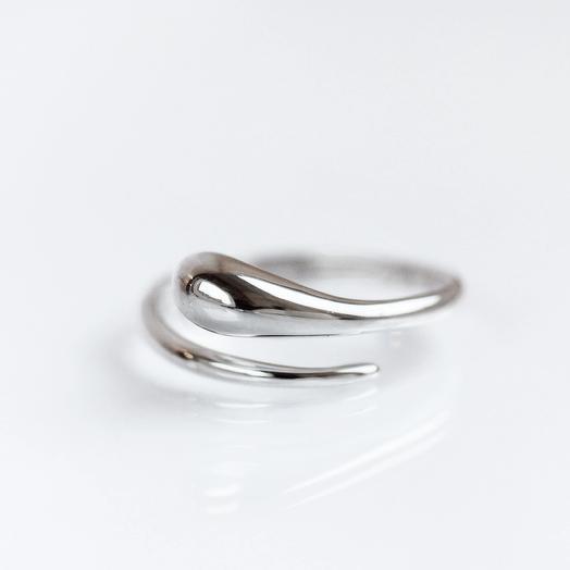 Кольцо Капля