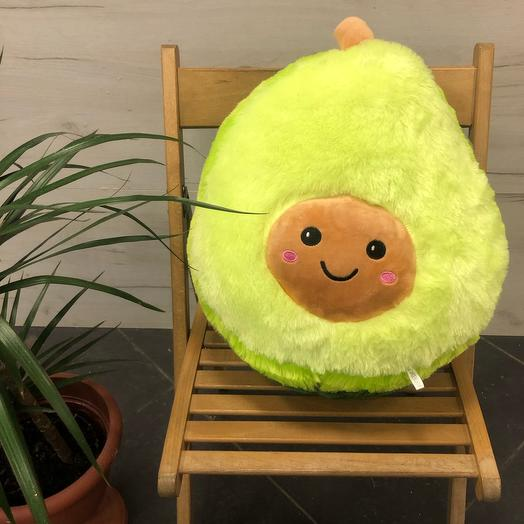 Авокадо 50 см с пледом
