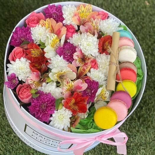 Цветы и вкусняшки