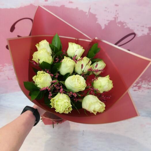 Букет из 11 роз мохито