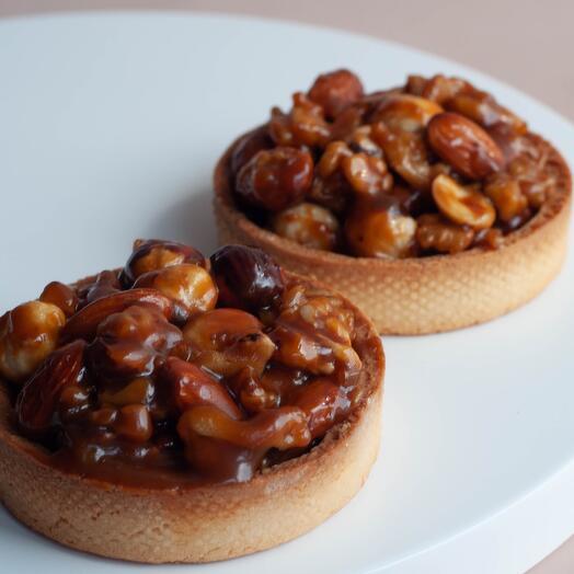 Тарталетки с орехами 2 шт