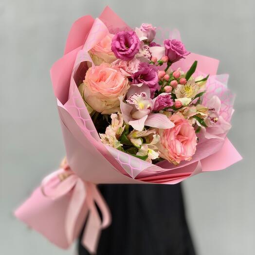 """Bouquet with taste"" XS pink"