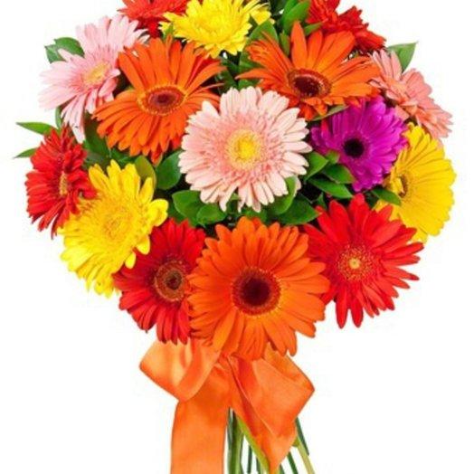 15 гербер: букеты цветов на заказ Flowwow