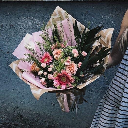 Евробукет летний: букеты цветов на заказ Flowwow