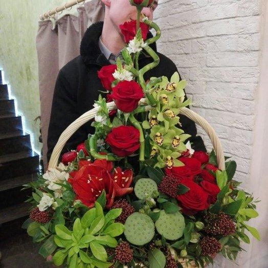 Настоящий босс: букеты цветов на заказ Flowwow