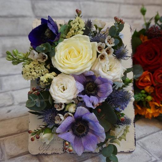 Цветочная рамка: букеты цветов на заказ Flowwow