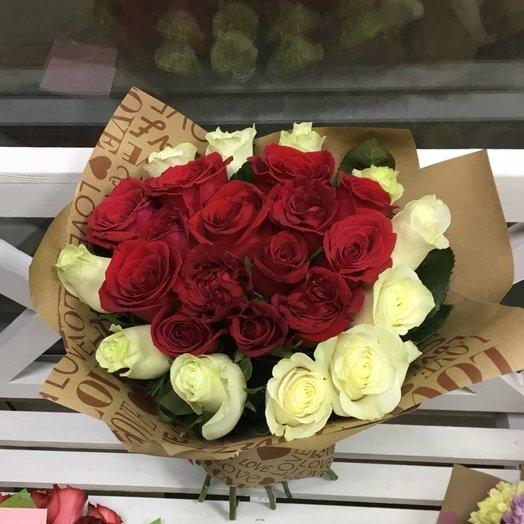 """Букет """"Счастья"""": букеты цветов на заказ Flowwow"""