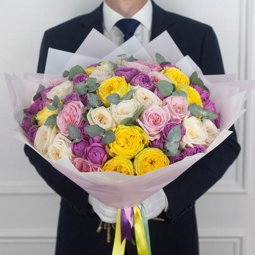 Авторский букет Neon: букеты цветов на заказ Flowwow