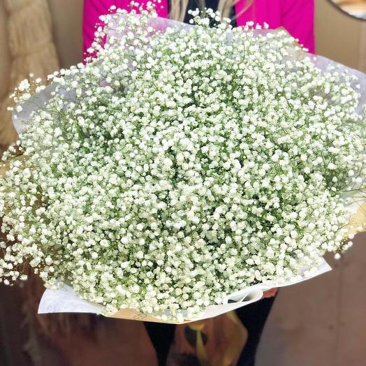Букет из гипсофилы: букеты цветов на заказ Flowwow