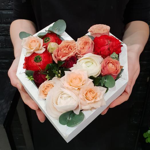 Любовное послание: букеты цветов на заказ Flowwow