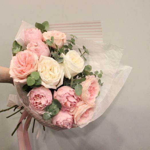 Розовый поросёнок: букеты цветов на заказ Flowwow