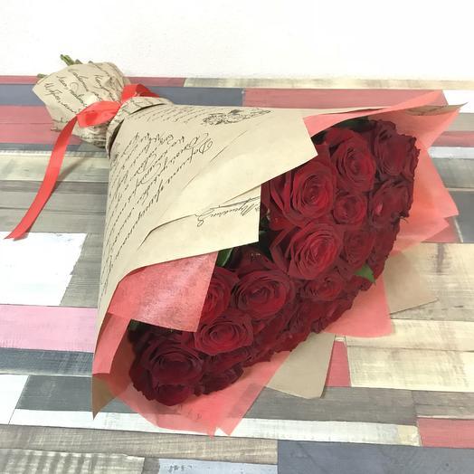 Ред М: букеты цветов на заказ Flowwow