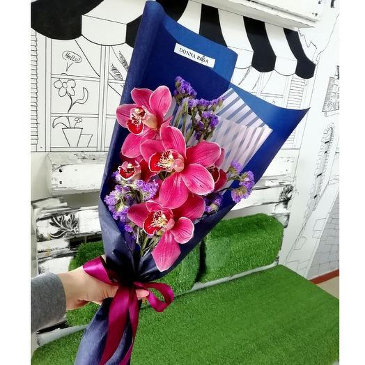 Донна Орхидея: букеты цветов на заказ Flowwow