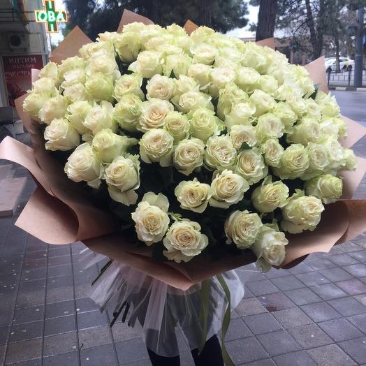 Букет из 101-ой Эквадорской розы