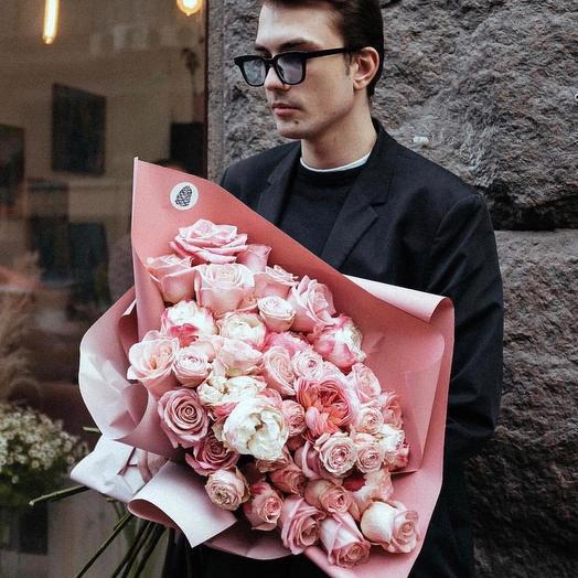 Букет цветов  76: букеты цветов на заказ Flowwow