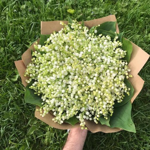 Весенние ландыши: букеты цветов на заказ Flowwow