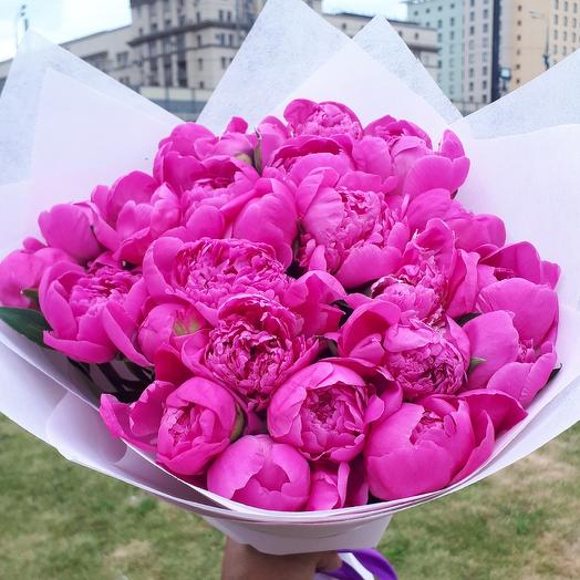 25 ароматных пионов: букеты цветов на заказ Flowwow