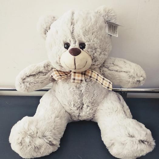 Медвед плюшевый: букеты цветов на заказ Flowwow