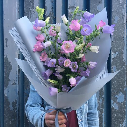 Время колокольчиков: букеты цветов на заказ Flowwow