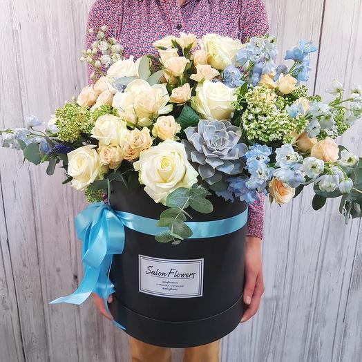 Мега Дельф Блэк: букеты цветов на заказ Flowwow