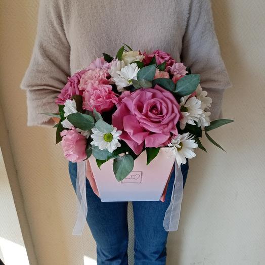 Коробка готова: букеты цветов на заказ Flowwow